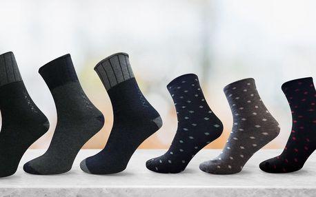 Pánské nebo dámské bavlněné ponožky