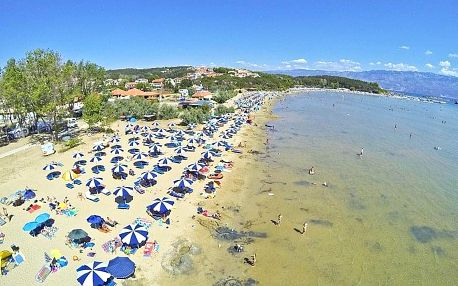 Chorvatsko - Rab na 7-12 dnů