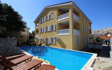 Chorvatsko - Baška na 7-12 dnů