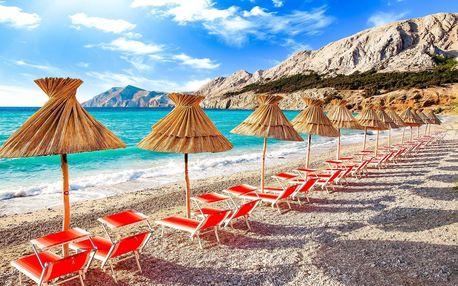 Jednodenní koupání u moře   Chorvatsko, Baška   Oceněná pláž   Autobusový zájezd