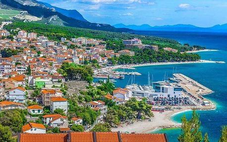 Chorvatsko - Baška Voda autobusem na 12 dnů