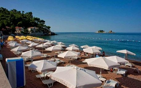 Černá Hora - Petrovac na 7-8 dnů, polopenze