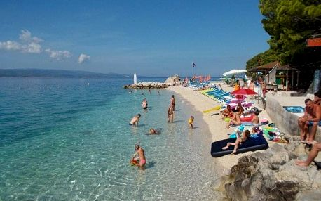 Chorvatsko - Baška Voda na 10 dnů