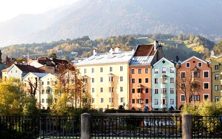 4* Alphotel v Innsbrucku se snídaní a wellness