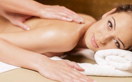 30 či 60minutová masáž zad nebo nohou