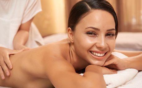 Relaxační masáž zad či nohou nebo čínská masáž Tuina