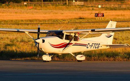 Staňte se na chvíli pilotem - vyhlídkový let v Cessna 172