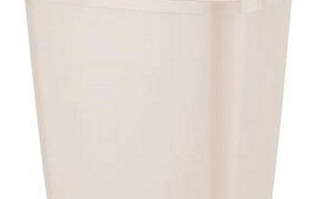 Tontarelli Výklopný odpadkový koš GRACE 15 l krémová