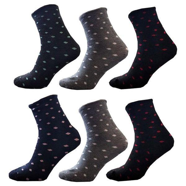 6 párů dámských ponožek | Velikost: 35-383