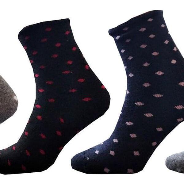 6 párů dámských ponožek | Velikost: 35-385