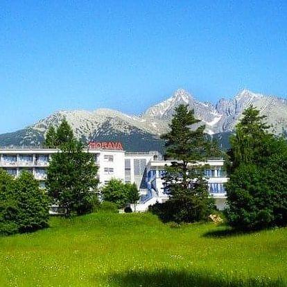 Tatranská Lomnica na 4 dny, polopenze
