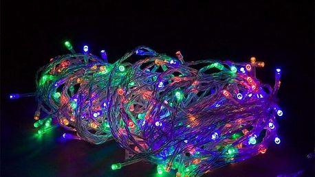 VOLTRONIC® 59580 Vánoční LED osvětlení 10 m - barevné 100 LED BATERIE