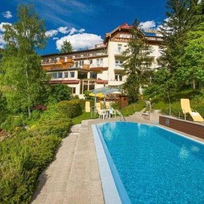 Rakouské Alpy: jaro a léto v Hotelu Alpenblick *** s bohatým wellness, termálním bazénem, vyžitím a polopenzí
