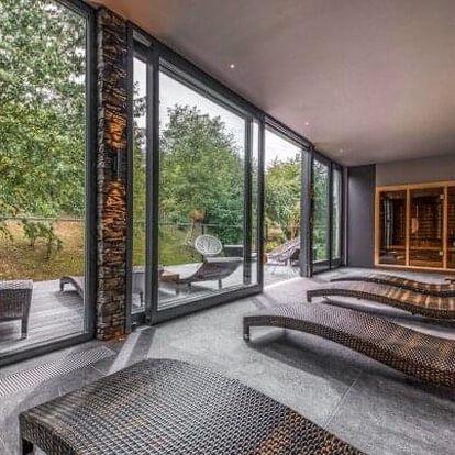 Praha luxusně ve Volcano Spa Hotelu **** se vstupem do wellness, masáží, sladkým překvapením a snídaněmi