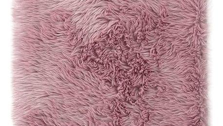 AmeliaHome Kožešina Dokka růžová, 75 x 120 cm