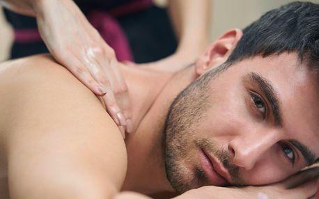 Relaxace pro muže: thajská masáž, oxygenoterapie a pivo
