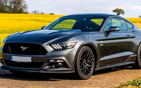 Pronájem nadupaného Fordu Mustang na 24 či 48 hod.