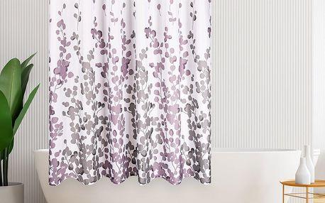 4Home Sprchový závěs Leaves, 178 x 183 cm