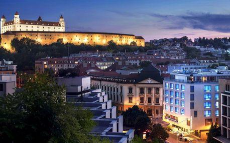 4* Hotel Falkensteiner Bratislava, snídaně a neomezený wellness