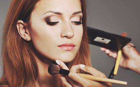 Kurz líčení pro 1–2 osoby i s balíčky kosmetiky