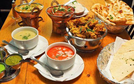 3chodové nepálské menu podle výběru pro 2 osoby