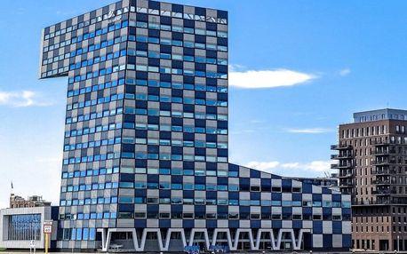 Jedinečný Rotterdam v hotelu se 100% hodnocením 4 dny / 3 noci, 2 osoby, snídaně