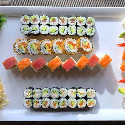 Až 108 kousků lahodného sushi v restauraci Boombay v Ostravě