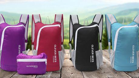Lehký skládací batoh na kolo i do města: 5 barev