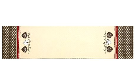 Trade Concept Běhoun Srdce, 33 x 130 cm