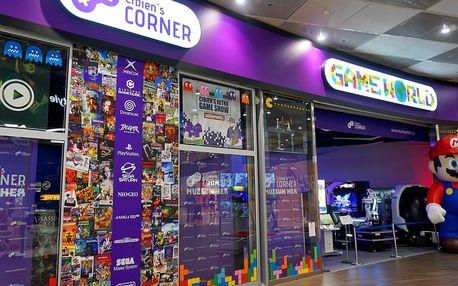 Vstup do muzea videoher pro děti, dospělé i rodinu