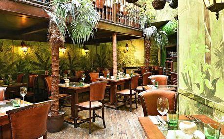 Dárkový poukaz do kubánské restaurace La Bodeguita