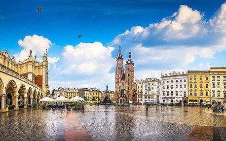 Krakov u historického centra v Hotelu Nowa Panorama *** se slevou na vstup do aquaparku i atrakce + polopenze