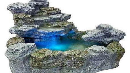 Zahradní kašna - fontána s osvětlením M01288
