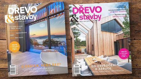 Roční předplatné magazínu Dřevo & stavby