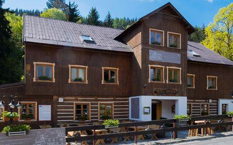 Pobyt v Peci: hotel s krkonošským hostincem