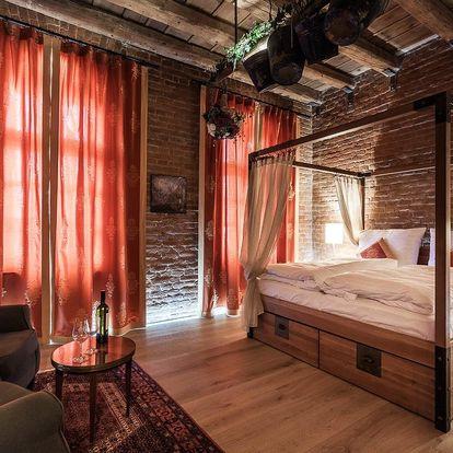 Krásný hotel v historickém centru Uherského Hradiště