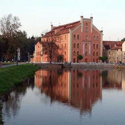 České Budějovice na 4-5 dnů, snídaně v ceně