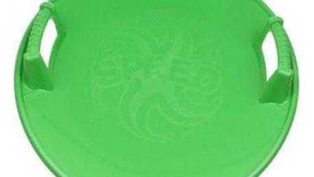 Talíř na bobování zelený