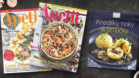 Roční předplatné časopisu Apetit s kuchařkou