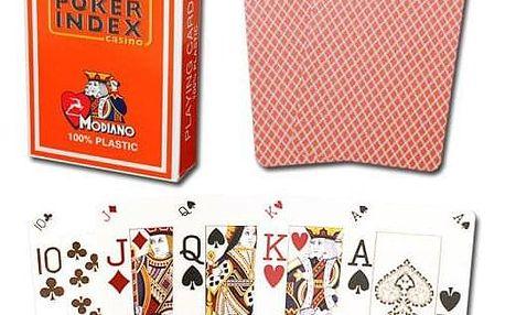 Modiano mini 2091 Karty 4 rohy - Oranžová