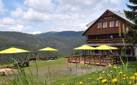 Aktivní dovolená ve Špindlu s polopenzí a saunou