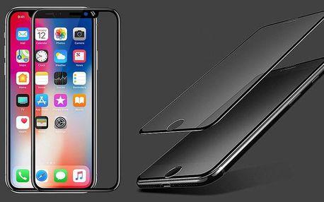 5D tvrzená skla pro Apple a Xiaomi v černé i bílé