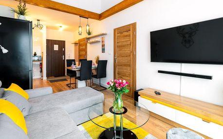 Moderní apartmány v Karpaczi až pro 4 osoby
