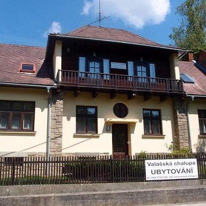 Rusava, Zlínský kraj: Valašská chalupa