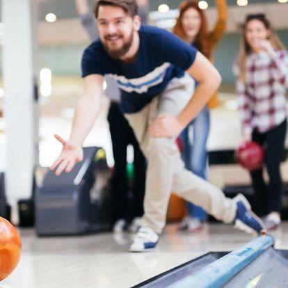 Bowling na 1 nebo 2 hodiny pro 1–4 hráče