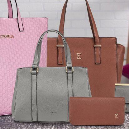 Elegantní kabelky a peněženky Esoria