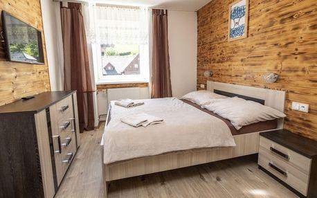 Krkonoše: hotel v Rokytnici se stravou a saunou