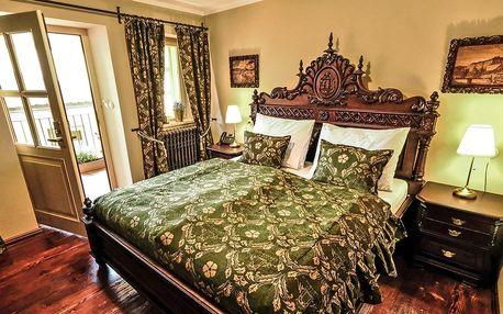 Luxusní historický hotel v Krumlově i s wellness