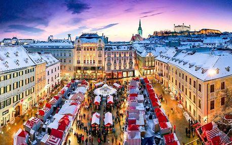Adventní trhy v Bratislavě   Jednodenní zájezd   Prohlídka historického centra města s průvodcem