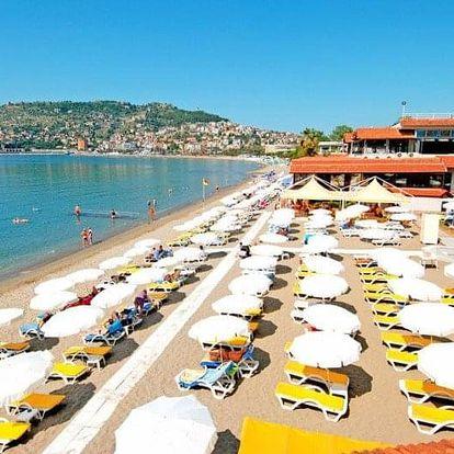 Turecko - Alanya letecky na 8-11 dnů, all inclusive